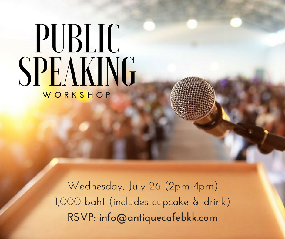 Public speaking Workshop